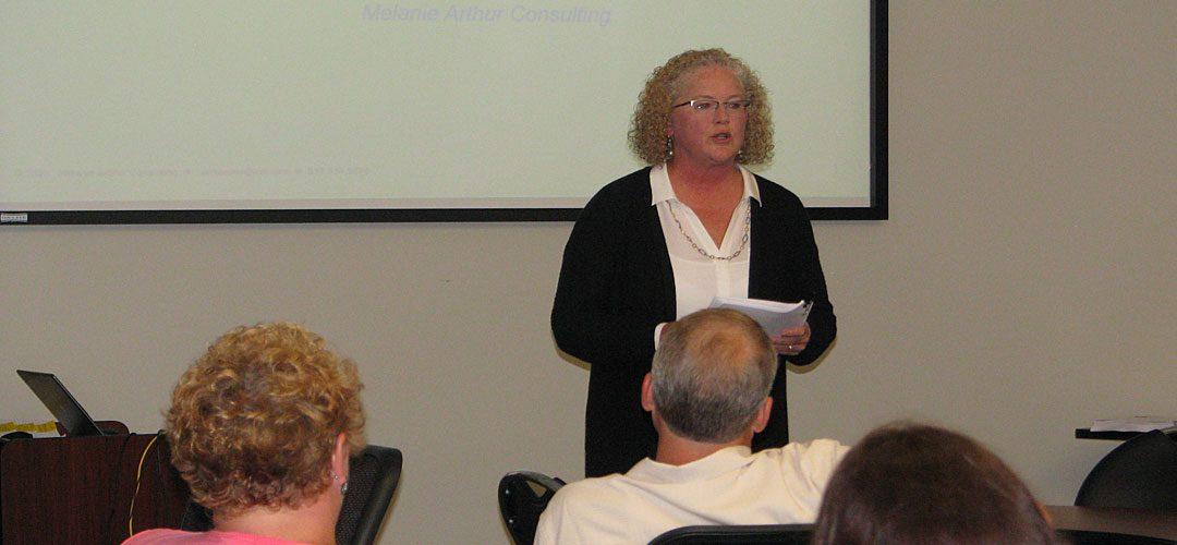 Melanie Arthur WIOA Training Session image